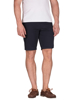 model wearing high quality navy chino shorts