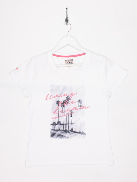 Raging Bull Living The Dream T-Shirt - White