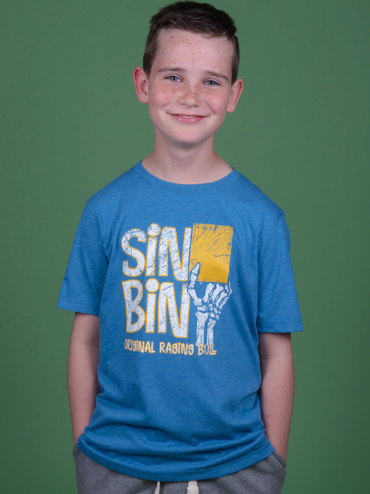 Raging Bull - Sin Bin T-Shirt - Cobalt Blue
