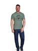 Raging Bull Skull T-Shirt - Green