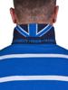 Raging Bull Long Sleeve Fine Stripe Rugby - Cobalt
