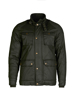 high quality green wax jacket