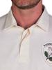 Raging Bull Long Sleeve Heritage Rugby - Cream