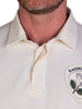 Raging Bull Big & Tall Long Sleeve Heritage Rugby - Cream