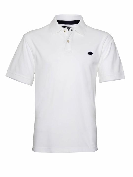 Raging Bull - Big & Tall - Signature Polo Shirt – White