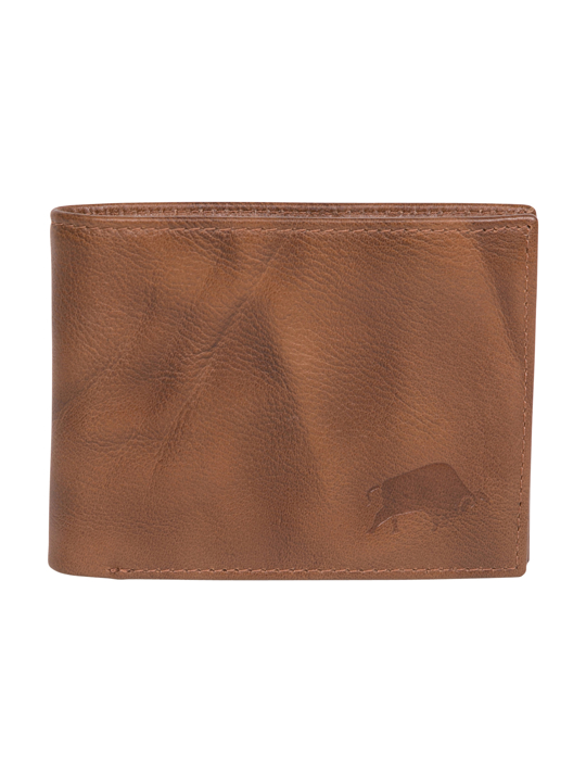 Raging Bull Leather Wallet - Brown