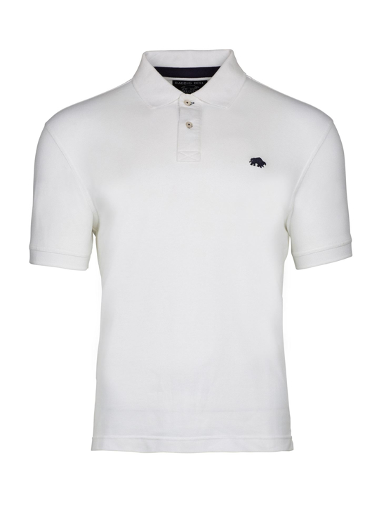 Raging Bull - Signature Polo Shirt – White