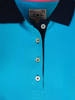 Raging Bull Ladies - Contrast Sleeve Polo - Electric Blue
