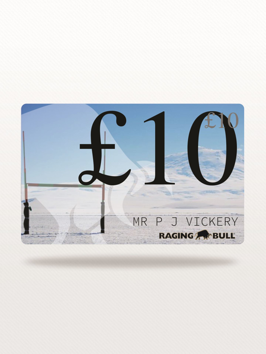 Raging Bull - £10 e-Gift Card