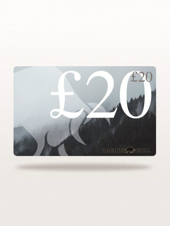 Raging Bull - £20 e-Gift Card