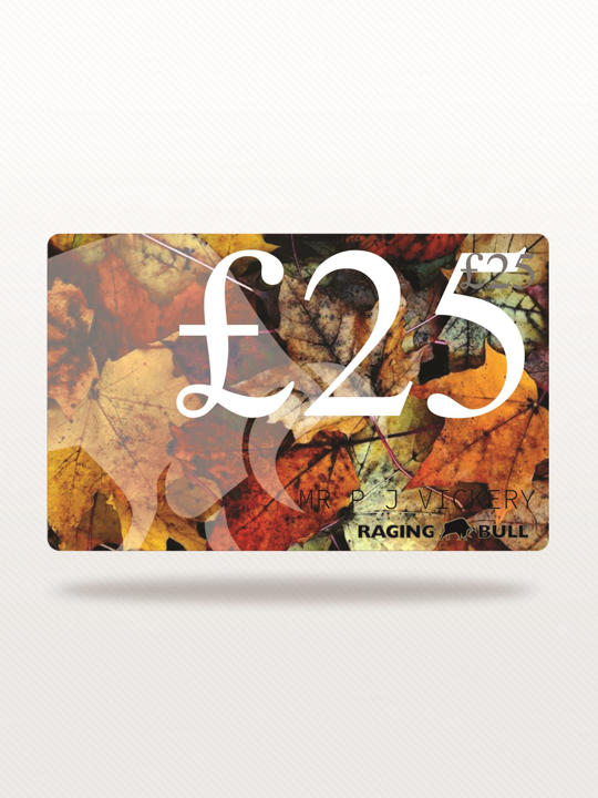 Raging Bull - £25 e-Gift Card