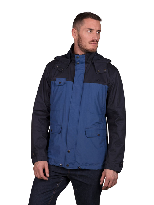 Raging Bull - Two Tone Hooded Jacket