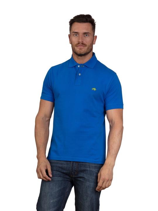 Raging Bull - Signature Polo Shirt - Cobalt Blue