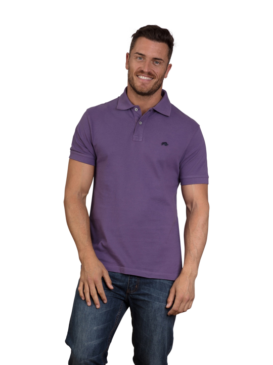 Raging Bull - Signature Polo Shirt - Purple