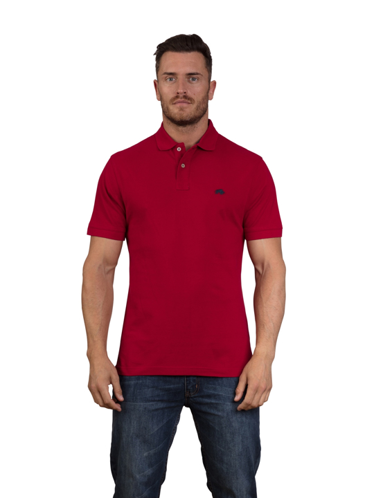 Raging Bull - Signature Polo Shirt - Red