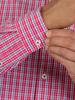 Raging Bull Micro Check Shirt - Vivid Pink