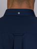 Raging Bull Long Sleeve Pinpoint Oxford Shirt  - Navy