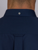 Raging Bull Long Sleeve Pinpoint Oxford Shirt  - Navy