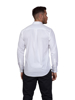 Raging Bull Long Sleeve Pinpoint Oxford Shirt  - White