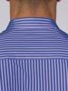 Raging Bull 3 Colour Stripe Shirt - Navy