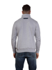 Raging Bull RB Applique Button Up Sweat - Dk Grey