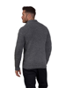Raging Bull Big & Tall - Button Up Heavy Knit - Charcoal