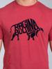 Raging Bull Flock Bull Tee - Red