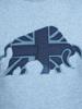Raging Bull Big & Tall - Union Jack Tee - Denim