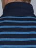 Raging Bull Textured Stripe Polo - Indigo