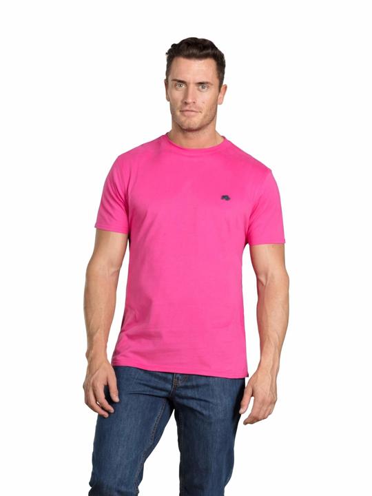 Raging Bull - Big & Tall - Signature T-Shirt - Vivid Pink