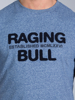 Raging Bull Boucle RB Tee - Mid Blue