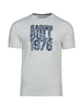 Raging Bull Floral Pattern RB Tee - Grey