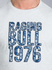 Raging Bull Big & Tall - Floral Pattern RB Tee - Grey