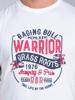Raging Bull Warrior Tee - White