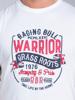 Raging Bull Big & Tall - Warrior Tee - White