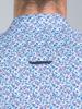 Raging Bull Big & Tall - Long Sleeve Micro Floral Shirt - Purple