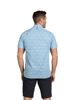 Raging Bull Short Sleeve Floral Print Shirt - Sky Blue