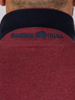Raging Bull Embroidered Marl Polo - Claret