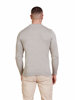Raging Bull Crew Neck Cotton/Cashmere Sweater - Grey Marl