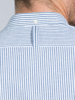 Raging Bull Short Sleeve Seersucker Shirt - Navy