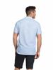 Raging Bull Big & Tall - Short Sleeve Bengal Stripe Shirt - Sky Blue