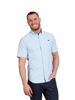 Raging Bull Big & Tall - Short Sleeve Signature Poplin Shirt - Sky Blue