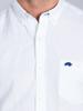 Raging Bull Big & Tall - Short Sleeve Linen Shirt - White