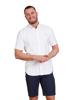 Raging Bull Short Sleeve Signature Oxford Shirt - White
