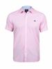 Raging Bull Big & Tall - Short Sleeve Gingham Dobby Shirt - Pink