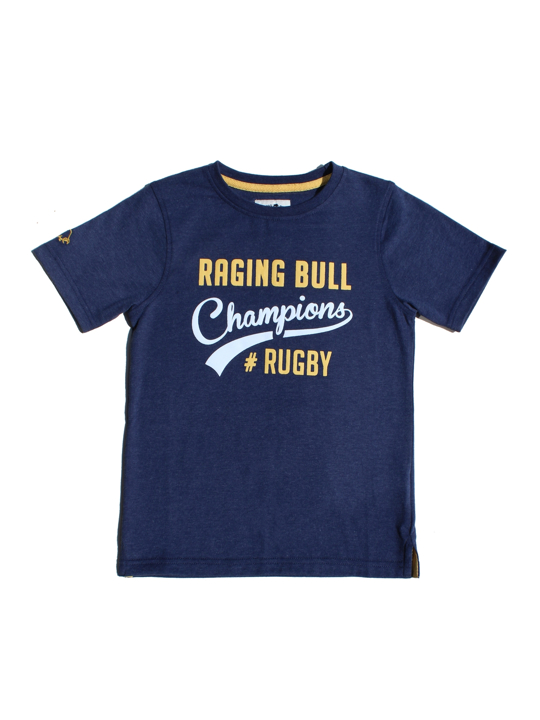 Raging Bull Champions Rugby Tee - Navy