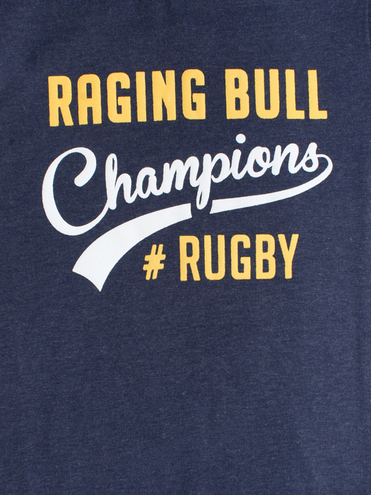 Raging Bull - Champions Rugby Tee - Navy