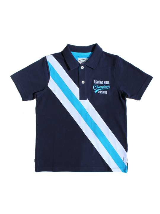 Raging Bull - Champions Rugby Polo - Navy