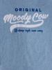 Raging Bull Moody Cow Original Tee - Sky Blue