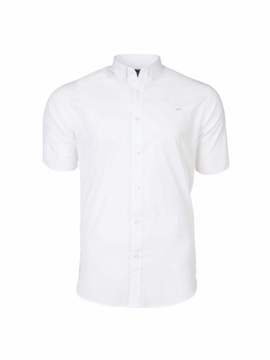 Raging Bull - Big & Tall Short Sleeve Signature Poplin Shirt - White